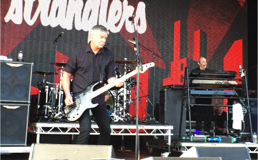 Gig Revew – The Stranglers, The Damned, SLF, Green Day, The Hives – BST Hyde Park – 010717