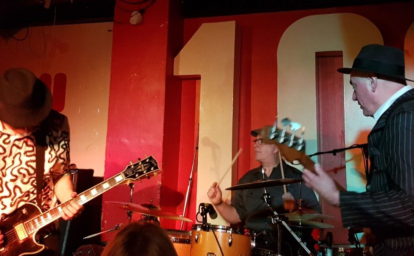 Gig Review Ruts DC Xmas Gig 100 Club 23 Dec 2017