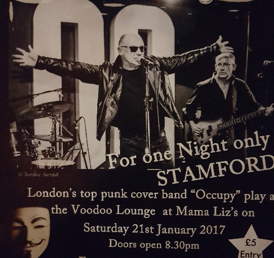 Occupy – The Voodoo Lounge Stamford